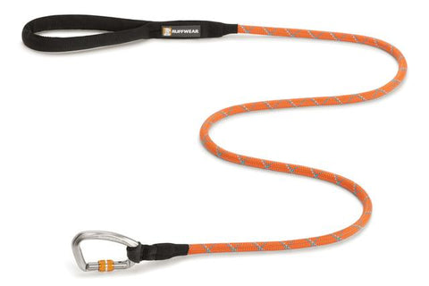 Knot-a-Leash™, Reflective with Locking Carabiner