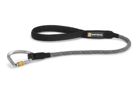 Knot-a-Long, Reflective Short Lead with Locking Carabiner