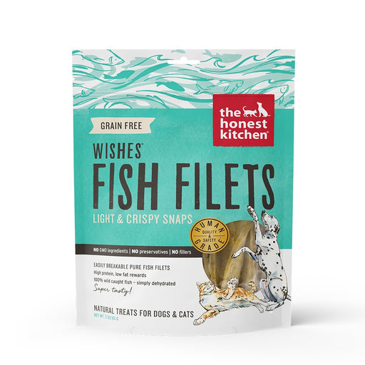 The Honest Kitchen WISHES Whitefish Fillet Dog  and Cat Treats