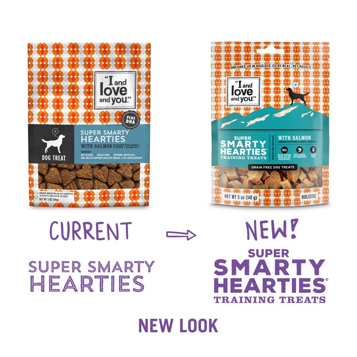 I and Love and You Super Smarty Hearties Grain Free Dog Treats