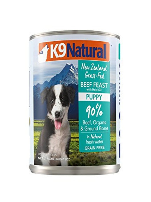 Beef and Hoki Feast, Puppy Formula, 13 oz can