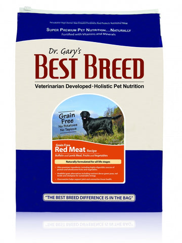 Dr. Gary's Best Breed Grain Free Holistic Red Meat Recipe Dry Dog Food
