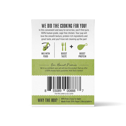 The Honest Kitchen Meal Booster 99% Chicken Dog Food Topper