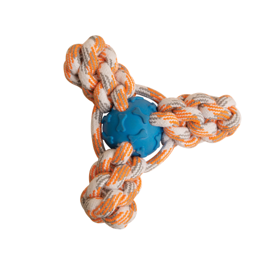 Snugarooz Mini Fling 'N Fun Rope Dog Toy