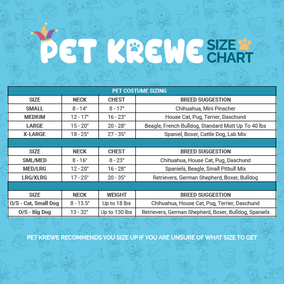 Pet Krewe Sailor Dog Costume