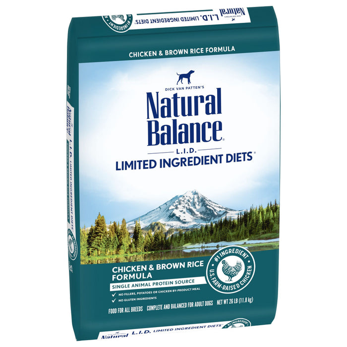 Natural Balance L.I.D. Limited Ingredient Diet Chicken & Brown Rice Formula Dry Dog Food