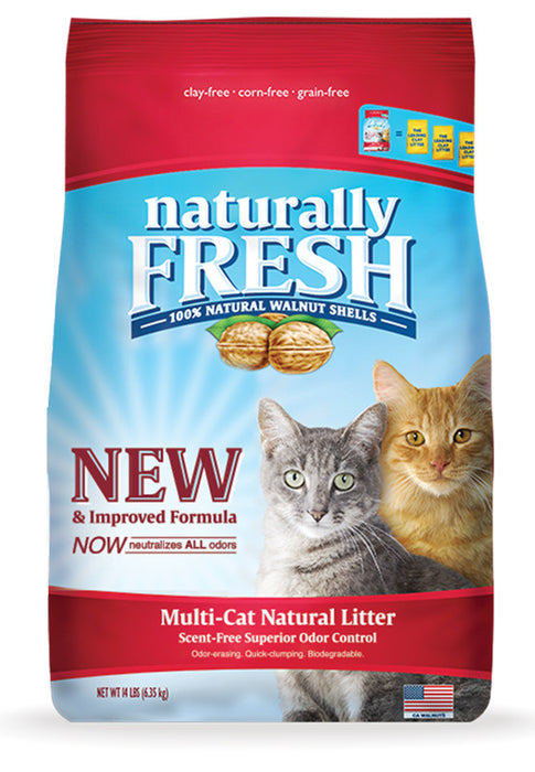 Naturally Fresh Multi-Cat Quick Clumping Cat Litter