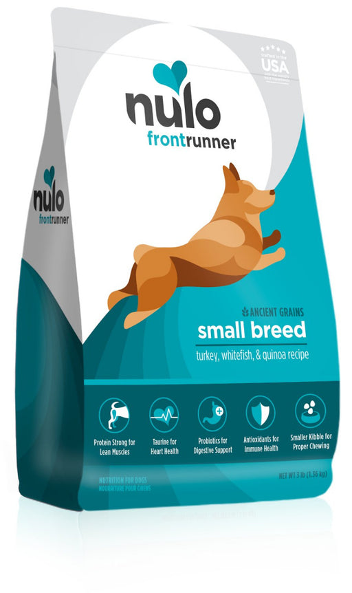 Nulo Frontrunner Turkey, Whitefish & Quinoa Dry Dog Food