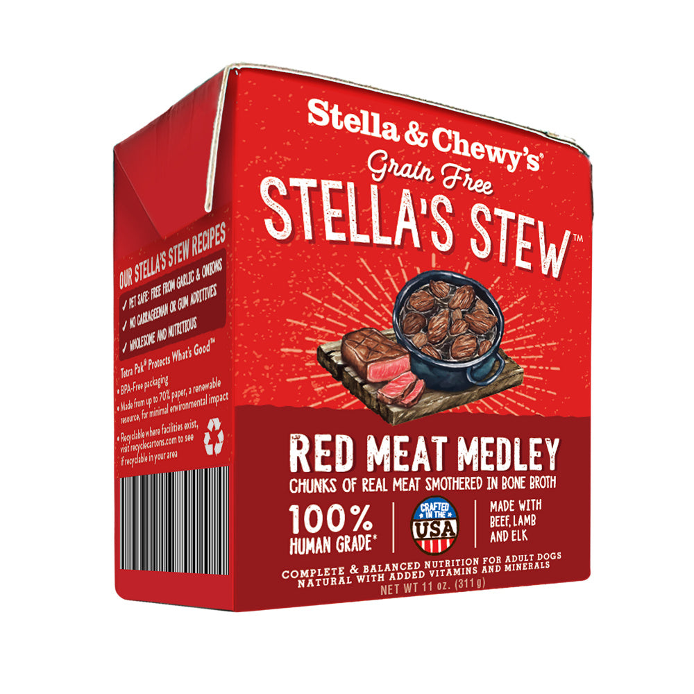 Stella & Chewy's Stella's Stew Red Meat Medley Recipe Food Topper for Dogs
