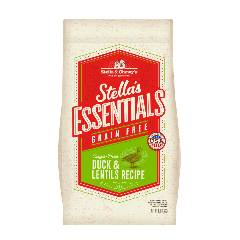 Stella & Chewy's Stella's Essentials Kibble Cage Free Duck & Lentils Recipe Dry Dog Food