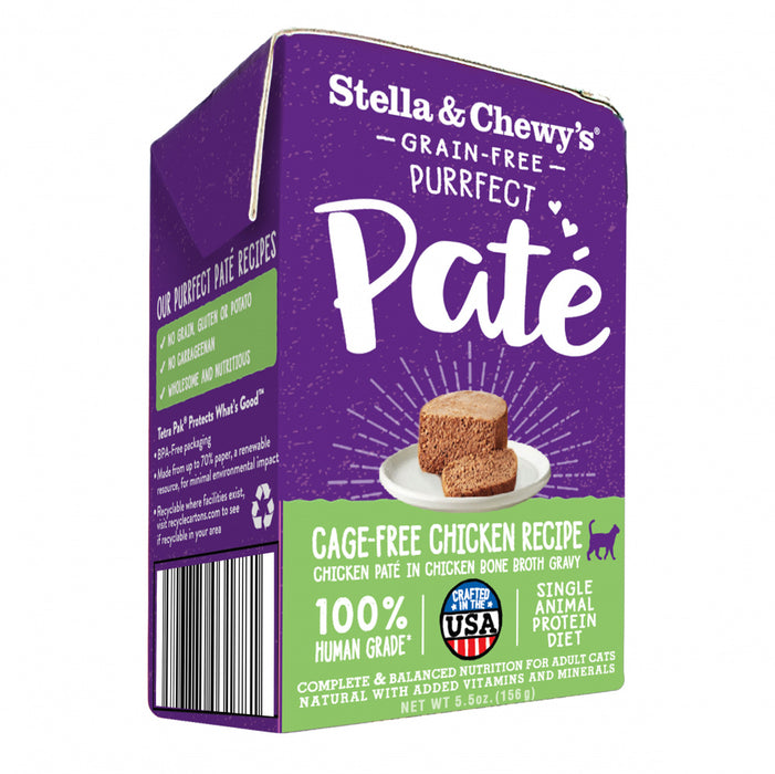 Stella & Chewy's Purrfect Pate Cage Free Chicken Recipe Wet Cat Food