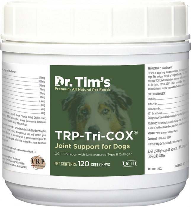 Dr. Tim's TRP-Tri-Cox Joint Mobility Dog Supplements