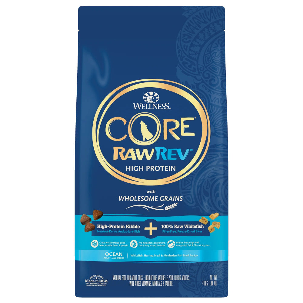 Wellness CORE RawRev Wholesome Grains Ocean Recipe Dry Dog Food