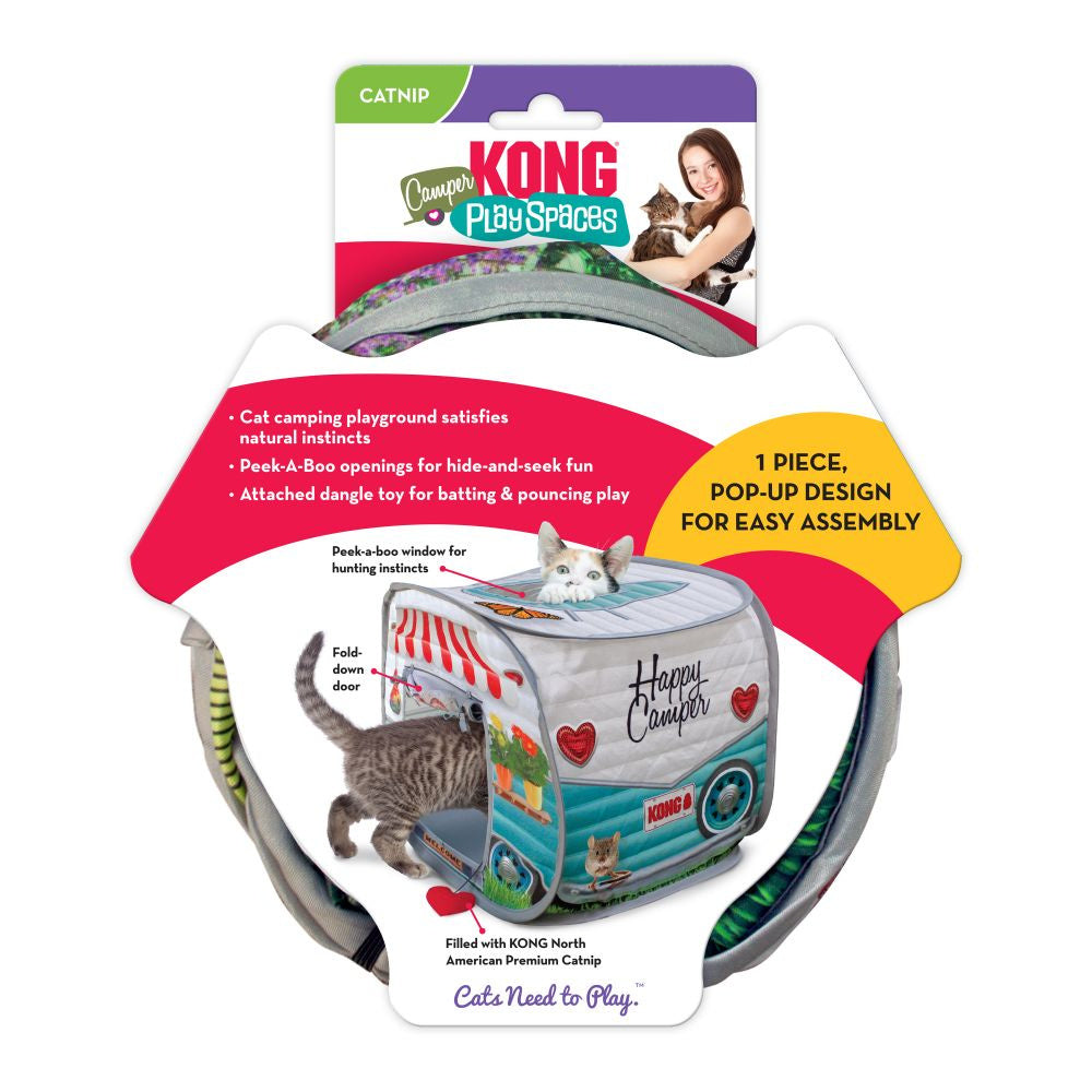 Kong Play Spaces Camper for Cats