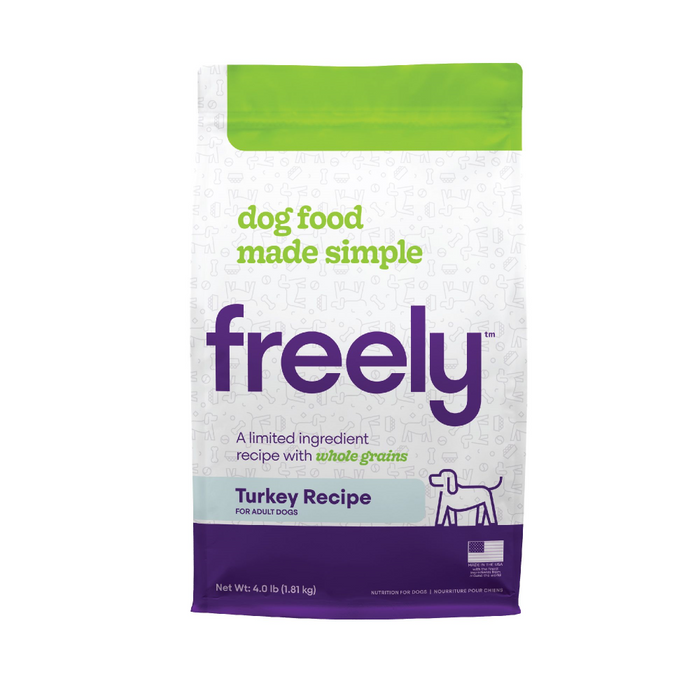 Freely Limited Ingredient Diet Natural Whole Grain Turkey Kibble Adult Dry Dog Food
