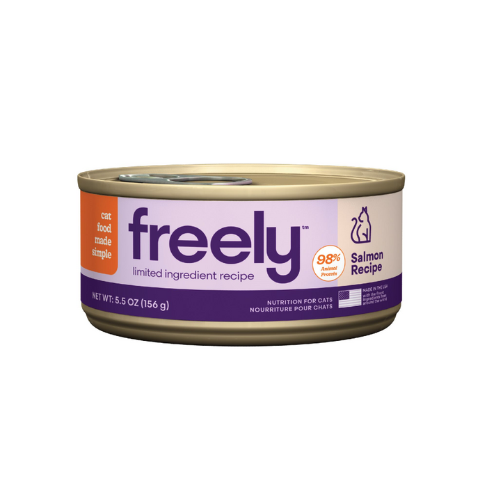 Freely Limited Ingredient Diet Natural Grain Free Salmon Cans Wet Cat Food