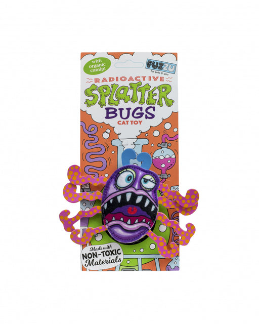 Fuzzu Splatterbugs Frazz Cat Toy