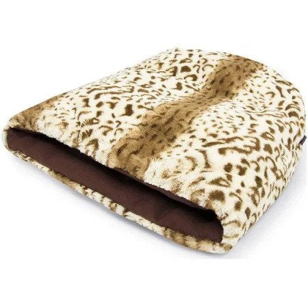 P.L.A.Y. Snuggle Bed Leopard, Brown