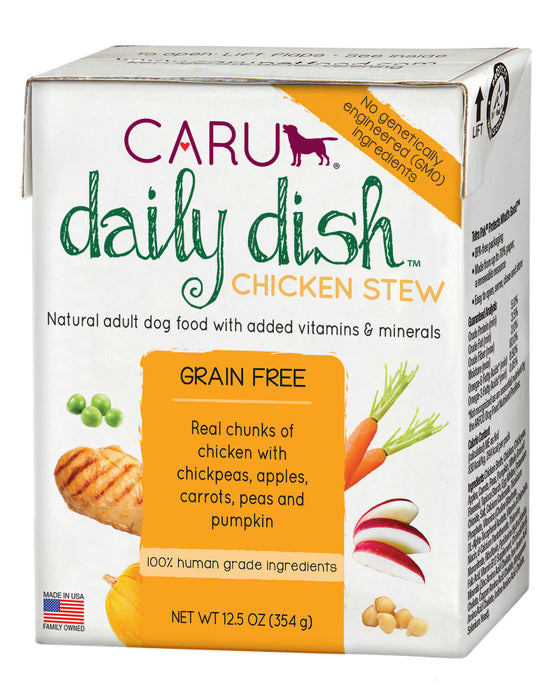 Caru Daily Dish Chicken Stew For Dogs