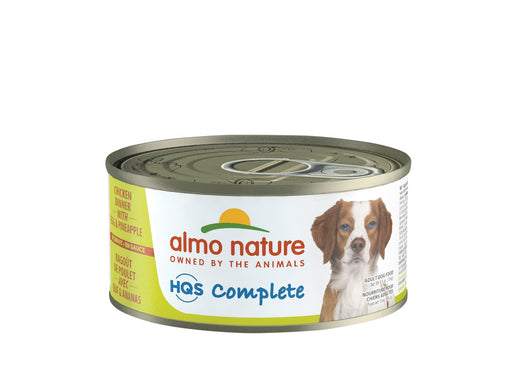 Almo Nature HQS Complete Dog Complete & Balanced Chicken Dinner with Egg & Cheese Canned Dog Food