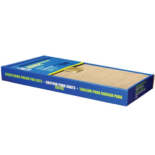 Scratching Board with Catnip, 2 sizes