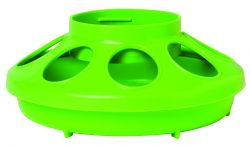 1 Quart Plastic Feeder Base; Assorted Colors