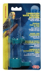 Living World Combination Water Fountain or Feeder