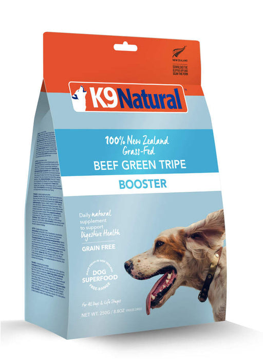 Beef Green Tripe Freeze Dried Booster, 2.6 and 8.8 oz