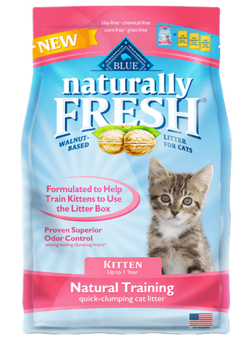 Natural Training Quick-Clumping Cat Litter For Kittens