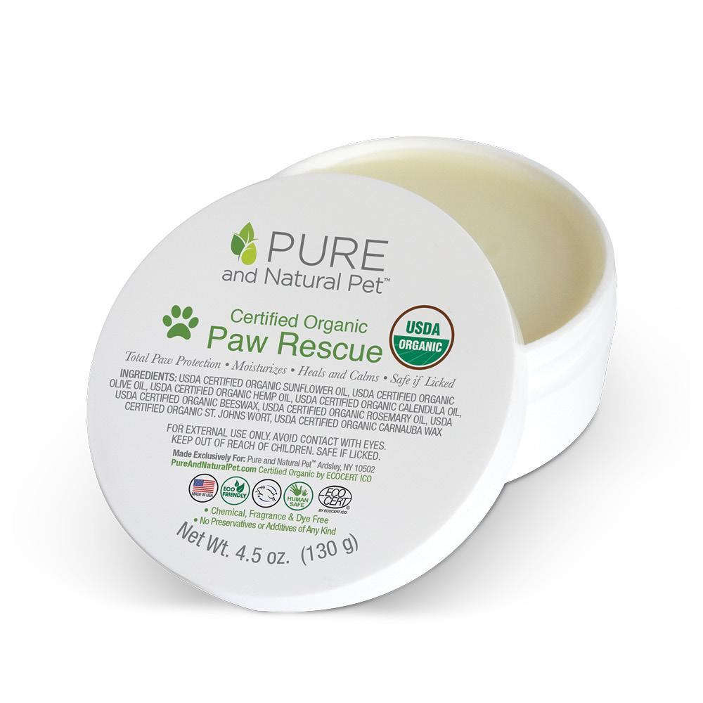 Certified Organic Paw Rescue, 4.5 oz