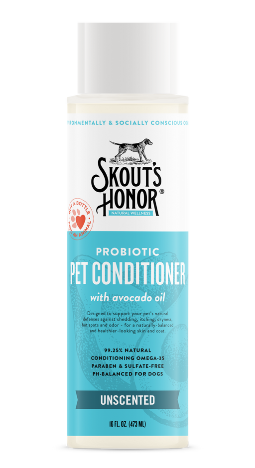 Probiotic Pet Conditioner w/ Avocado Oil, Assorted, 16 fl oz