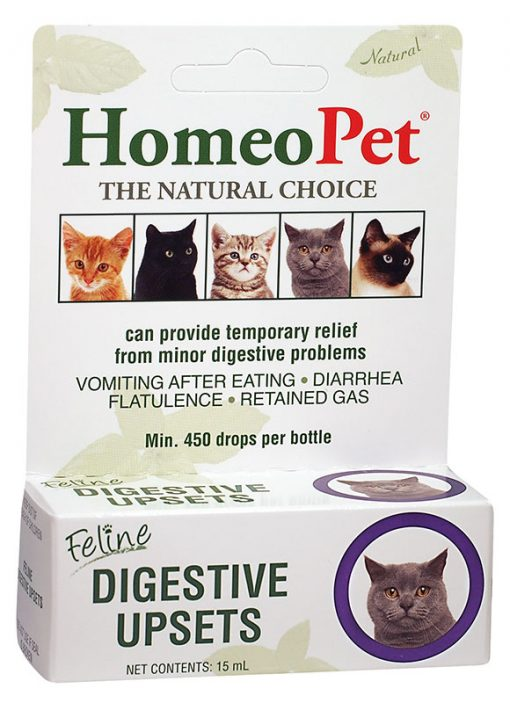 HomeoPet Feline Digestive Upsets, 15 ml