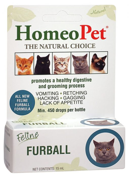 HomeoPet Feline Furball, 15ml
