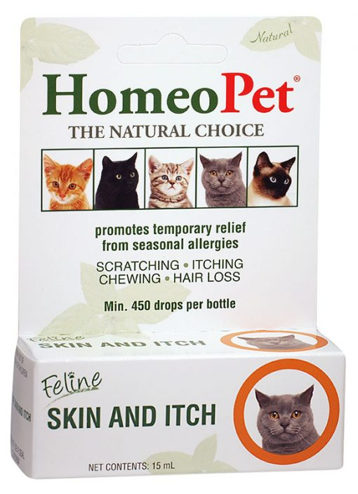 HomeoPet Feline Skin & Itch, 15ml