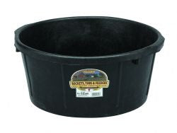 6.5 Gallon Rubber All-Purpose Tub
