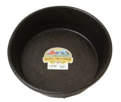 "8 Quart Rubber Feed Pan, 14.5 "" Diameter"