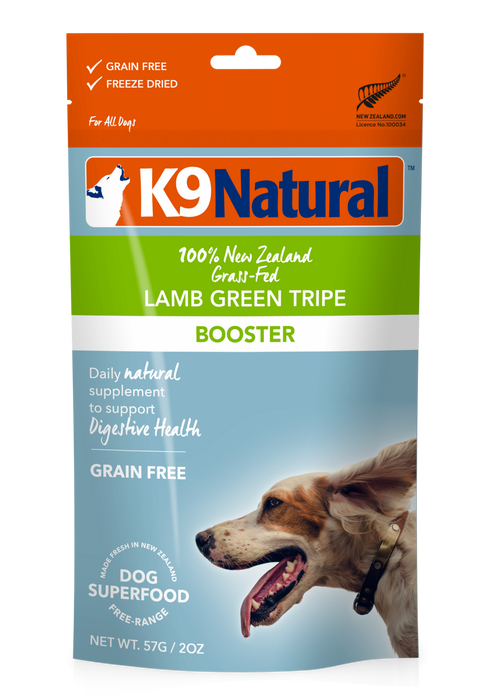 Lamb Green Tripe Freeze Dried Booster, 2.6 oz
