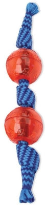 Candy Wraps Squeaky Ball Double Squeaker, Assorted