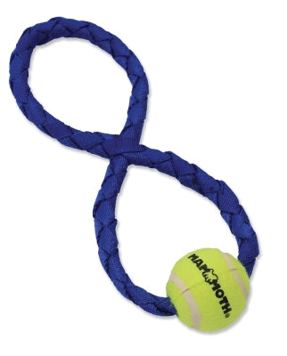 Gnarlys Figure 8 w/ Tennis Ball, Floating Dog Toy, 13""