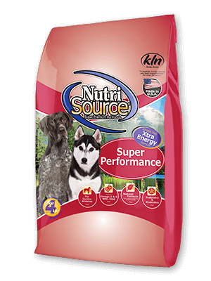 NutriSource Super Performance Chicken & Rice, Dry Dog Food