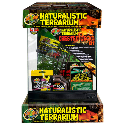 Naturalistic Terrarium® Crested Gecko Kit, 12 x 12 x 18 in