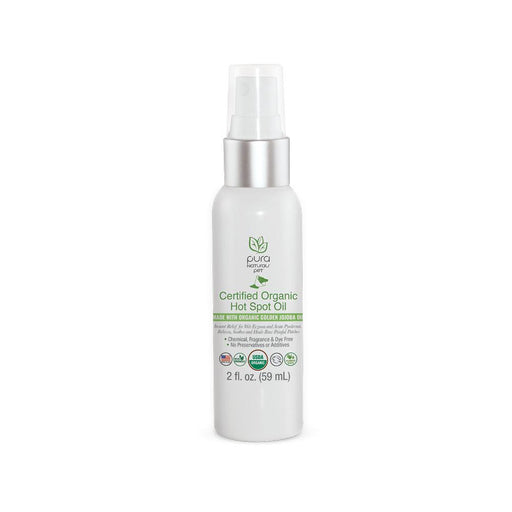 Certified Organic Hot Spot Oil, 2 fl. oz.