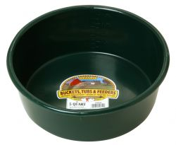 5 Quart Plastic Utility Pan, Green or Red