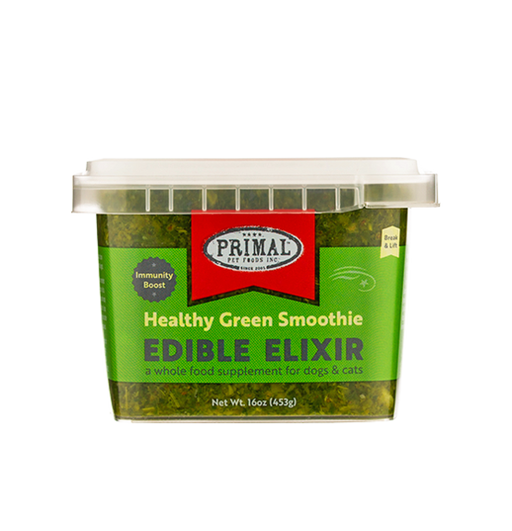 Healthy Green Smoothie, Edible Elixir 16oz