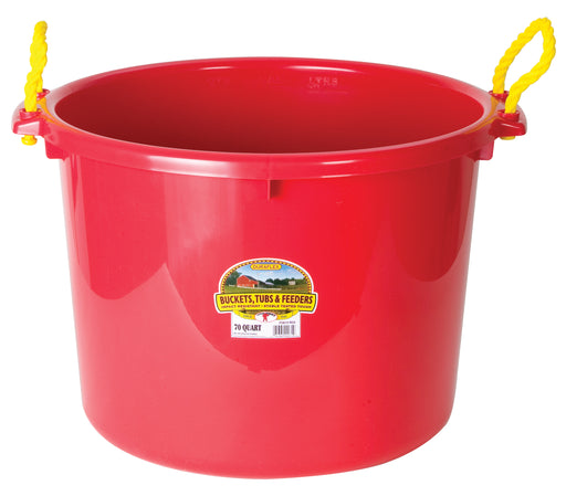 70 Quart/17.5 Gal Muck Tub, Assorted Colors