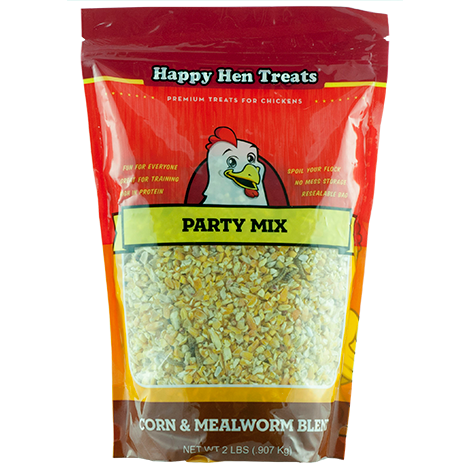 Corn & Mealworm Party Mix, 2 lbs