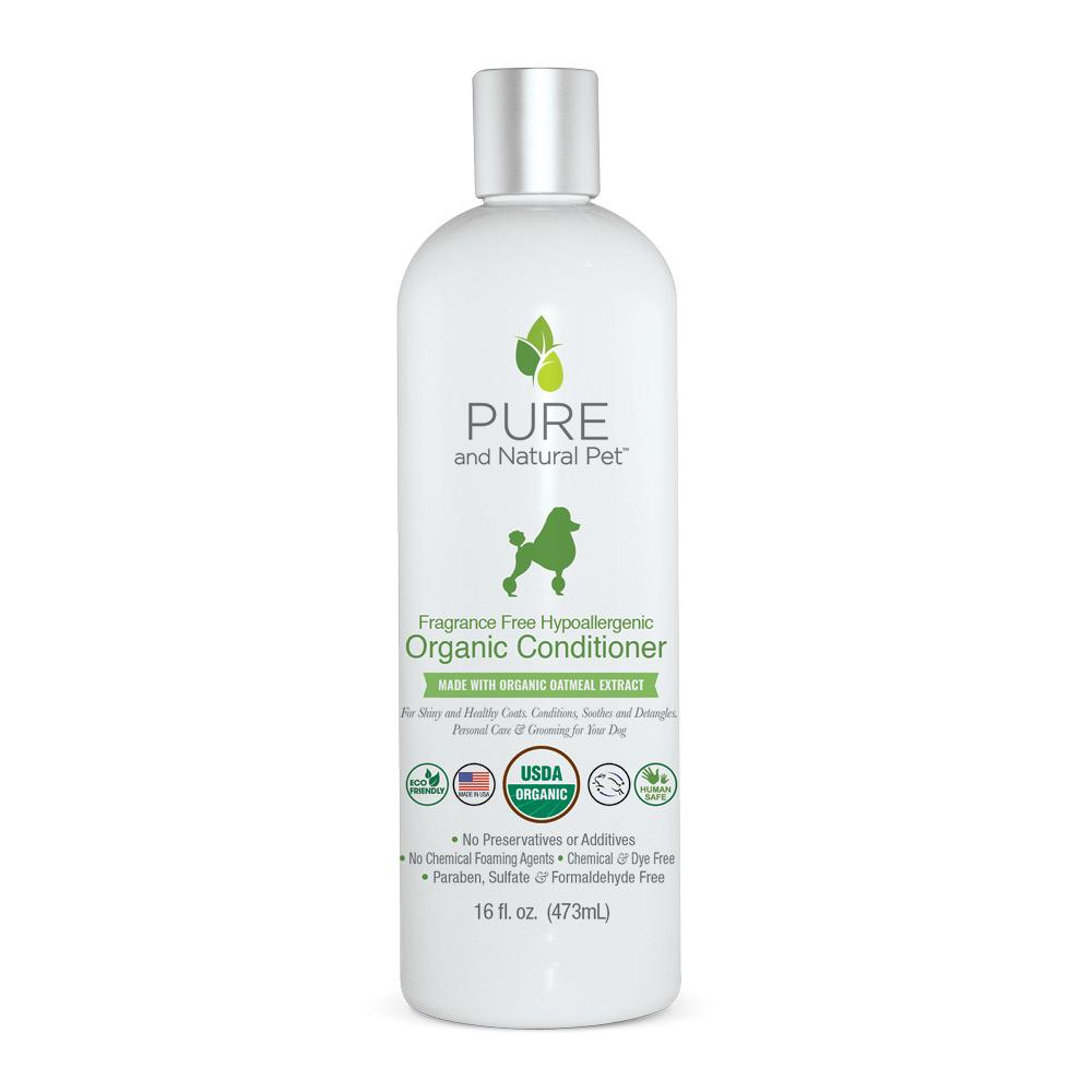Fragrance Free Hypoallergenic Organic Conditioner, 16 oz