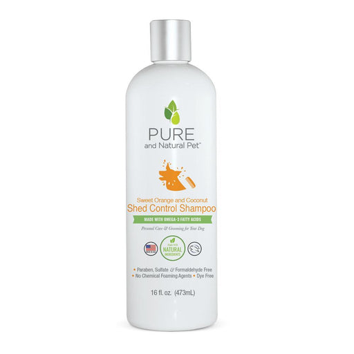 Shed Control Shampoo, Sweet Orange & Coconut, 16 oz