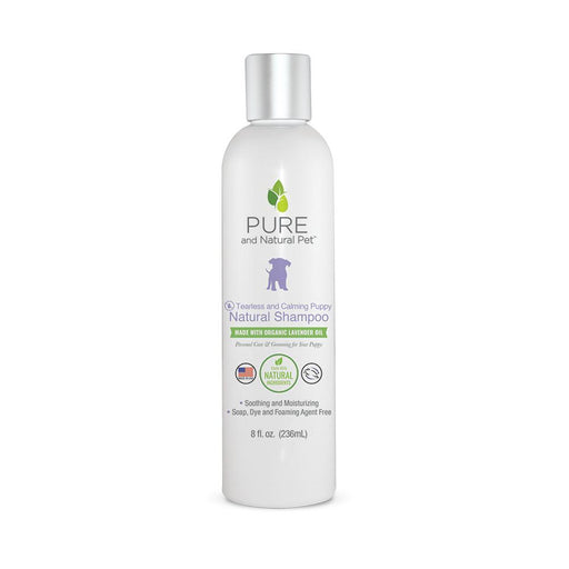 Tearless and Calming Puppy Natural Shampoo, 8 oz