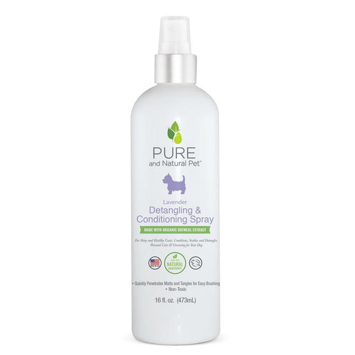 Detangling & Conditioning Spray, Lavendar, 16 oz